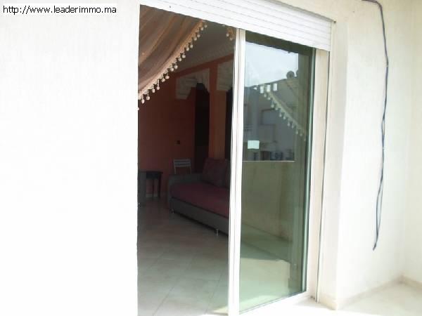 Rabat Harhoura à louer  Appartement meublé