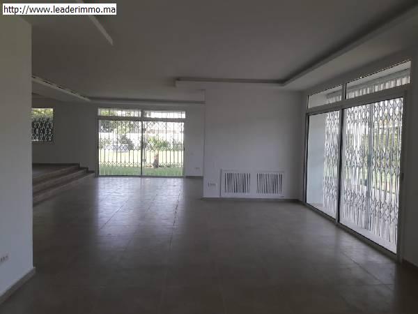 Offre similaire : Rabat Souissi villa bureau 2000m²