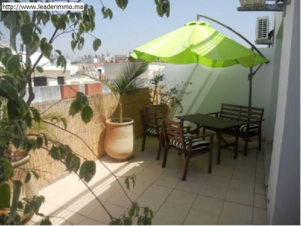 Offre similaire : Rabat Agdal appartement meublé en location