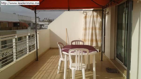 Offre similaire : Rabat agdal appartement meublé 100 m²