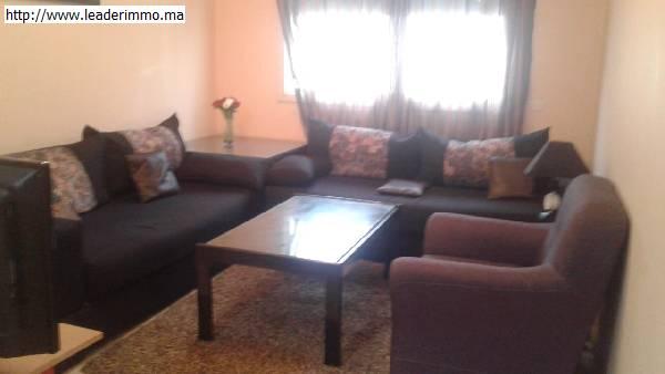 Offre similaire : Rabat Agdal Appartement meublé 85 m²