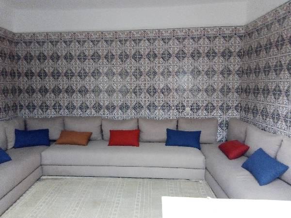 Riad meublé à louer aux Oudayas de Rabat.